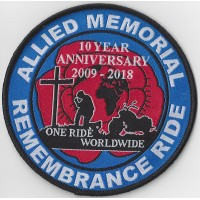AMRR 10 Year Patch